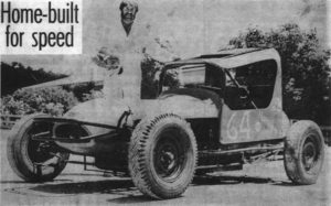HOME BUILT: Neville Eltze is pictured with his Standard Sportsman, 'Red Chariot'Wimmera Mail-Times. PHOTO: Wimmera Mail-Times
