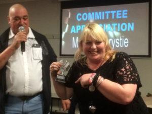 COMMITTEE APPRECIATION: Maxine Chrystie