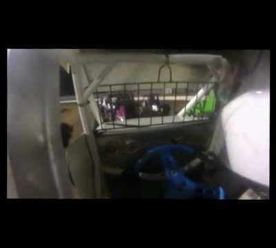 Onboard Cam Wingless Sprint Blue Ribbon Raceway - 9th June 2012
