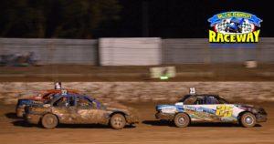 THE PENOLA BROTHERS: Mark and Steve Gartner dominiated the Kalkee track. PHOTO: Mark Cowin