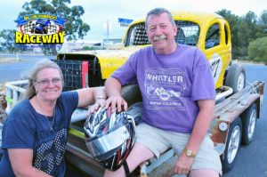STOCK CAR #77: Leanne Shanks and Mark Cowin