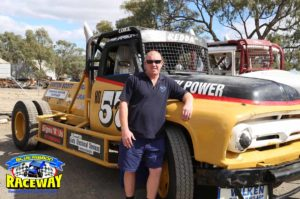 HO57 V8 TRUCK: Luke James