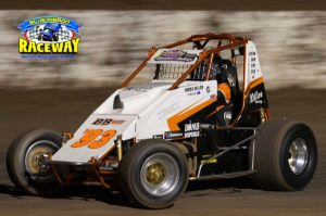 WINGLESS WEEKEND: Travis Millar is one the 37 Wingless Sprint drivers who have nominated to race this weekend. PHOTO: Mark Cowin