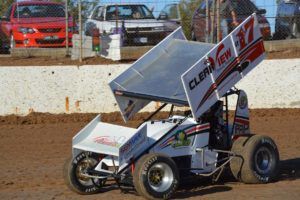 Sprintcar action will be hot and wild at Blue Ribbon Speedway.PHOTO: M&L Speedway Photography
