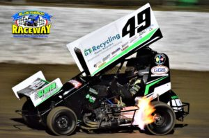 HOT: Action will be hot in the Formula 500's at Blue Ribbon Raceway. PHOTO: M&L Speedway Photography.