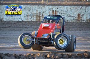 HOOKED UP: Wingless Sprints are sure to entertain the crowd at the Speedway Carnival at Blue Ribbon Raceway. PHOTO: M&L Speedway Photography